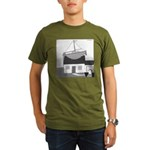 Gerald's Ship (no text) Organic Men's T-Shirt (dar