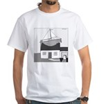 Gerald's Ship (no text) White T-Shirt