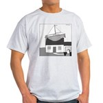 Gerald's Ship (no text) Light T-Shirt