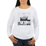 Gerald's Ship (no text) Women's Long Sleeve T-Shir