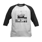 Gerald's Ship (no text) Kids Baseball Jersey