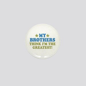My Brothers Mini Button