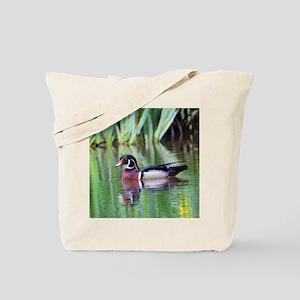 Proud Wood Duck Tote Bag