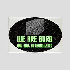 ST: Borg Rectangle Magnet (10 pack)