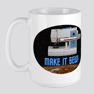 ST: Make It Sew Large Mug