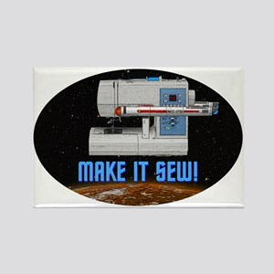 ST: Make It Sew Rectangle Magnet (10 pack)