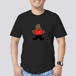 ST: Ginger3 Men's Fitted T-Shirt (dark)