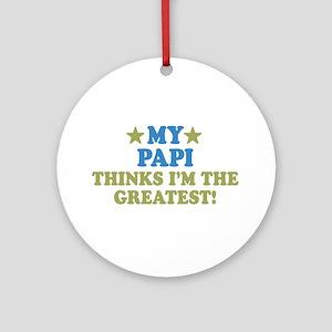 My Papi Ornament (Round)