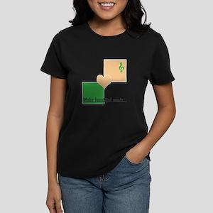 Make beautiful music Women's Dark T-Shirt
