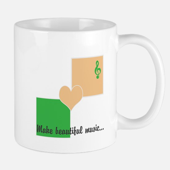 Make beautiful music Mug