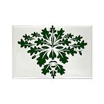 Green Man Rectangle Magnet (10 pack)