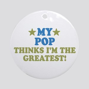 My Pop Ornament (Round)
