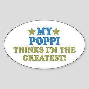 My Poppi Sticker (Oval)