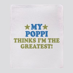 My Poppi Throw Blanket