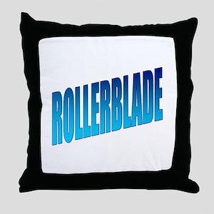 Rollerblade Throw Pillow