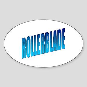 Rollerblade Oval Sticker