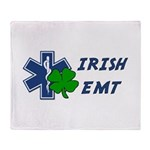 Irish EMT Throw Blanket