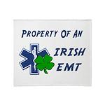 Irish EMT Property Throw Blanket