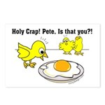 Holy Crap! Pete, is that you? Postcards (Package o