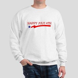 Happy July 4th Sweatshirt