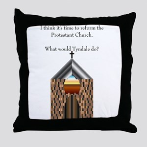 Protestant Reform Throw Pillow
