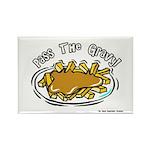 Pass The Gravy Rectangle Magnet (100 pack)