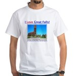 Greater Falls White T-Shirt