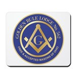 Golden Rule Lodge Mousepad