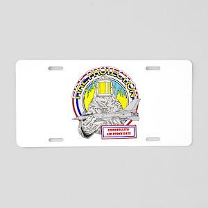 FIRE PROTECTION - GOOD FELLOW Aluminum License Pla