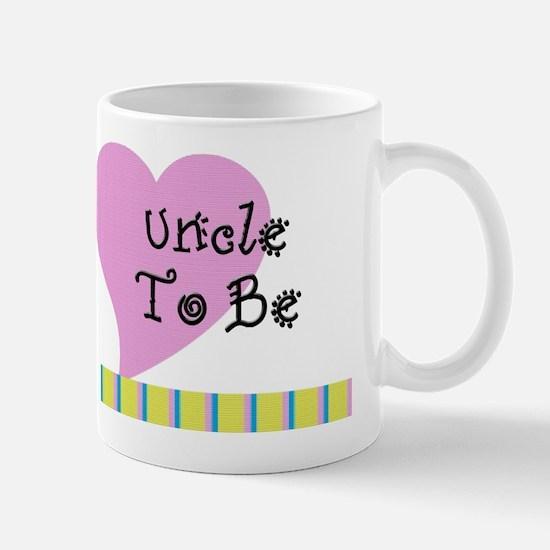 Uncle To Be Stripes Mug