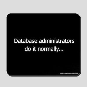 DBA's Mousepad
