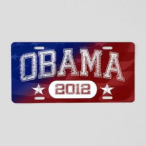 Obama 2012 Aluminum License Plate