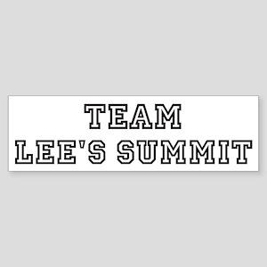 Team Lee's Summit Bumper Sticker