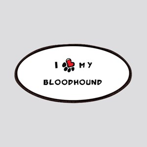 I *heart* My Bloodhound Patches