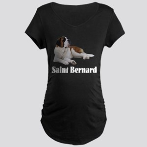Saint Bernard Maternity Dark T-Shirt