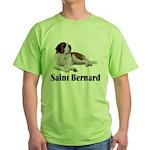Saint Bernard Green T-Shirt