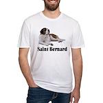 Saint Bernard Fitted T-Shirt