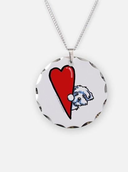 Maltese Lover Necklace