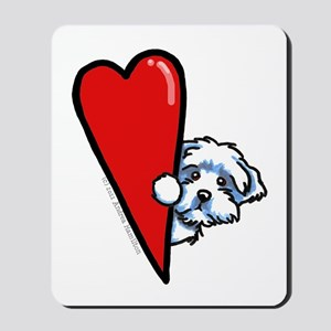 Maltese Lover Mousepad