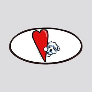 Maltese Lover Patches