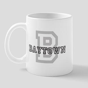 Letter B: Baytown Mug