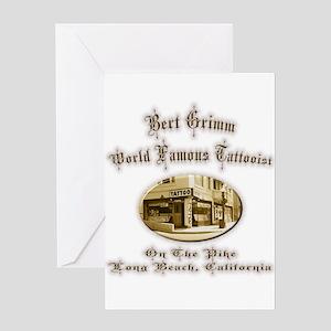 California tattoo greeting cards cafepress bert grimm tattoo artist greeting card m4hsunfo