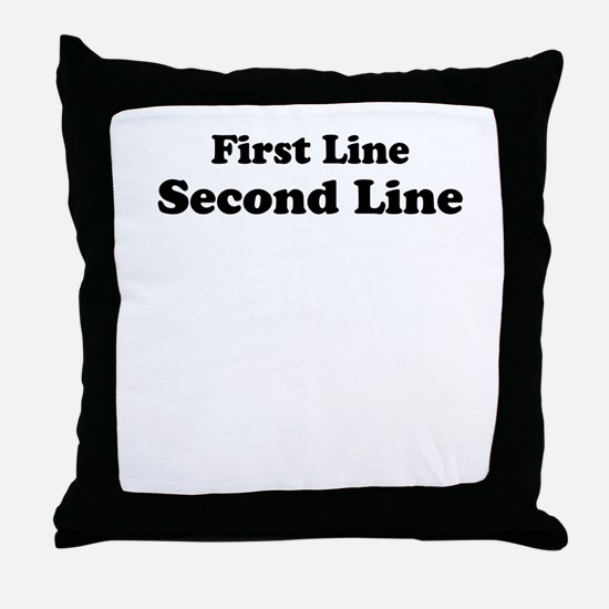 Customize This Throw Pillow