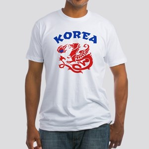Korea Dragon Fitted T-Shirt