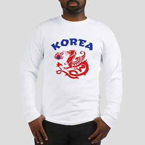 Korea Dragon Long Sleeve T-Shirt