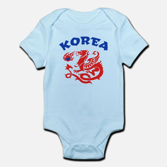 Korea Dragon Infant Bodysuit