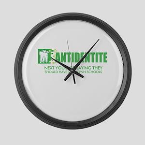 Antidentite kramer Large Wall Clock