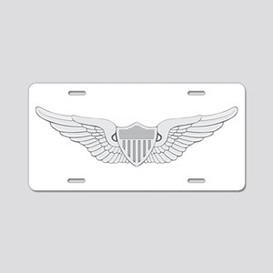 Aviator Aluminum License Plate