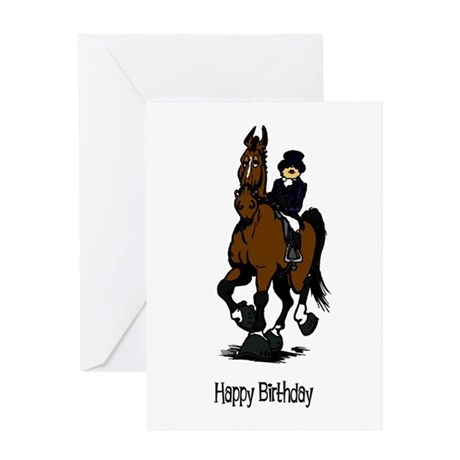 Dressage Queen Birthday Card