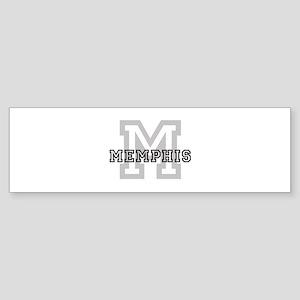 Letter M: Memphis Bumper Sticker